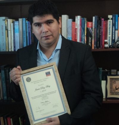 A young ceiA3 researcher awarded by the World Regional Studies Associatio