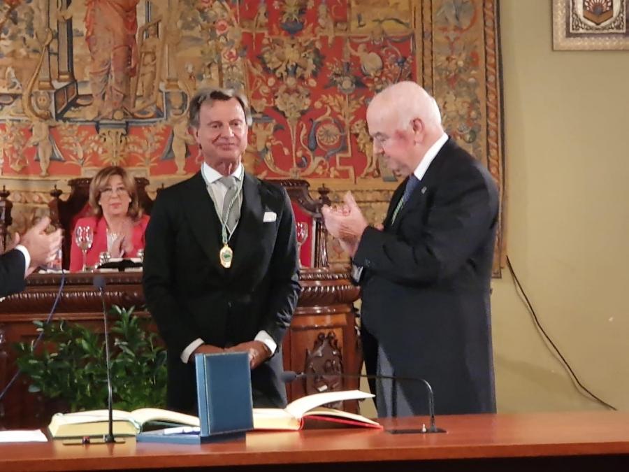 Rafael Jordano Salinas, catedrático de Nutrición y Bromatología de la UCO e investigador ceiA3, ingresa en la Academia Andaluza de Ciencia Regional