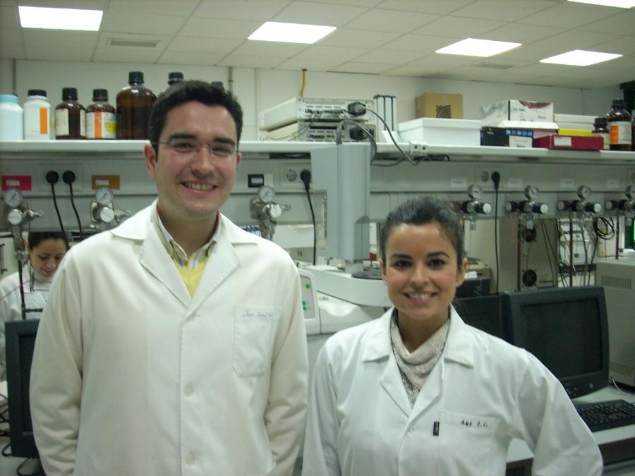 José Ángel Siles y Ana Ferrer
