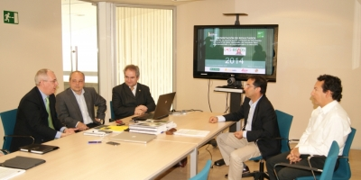 Presentation of the project at CTA (Technological Corporation of Andalusia)