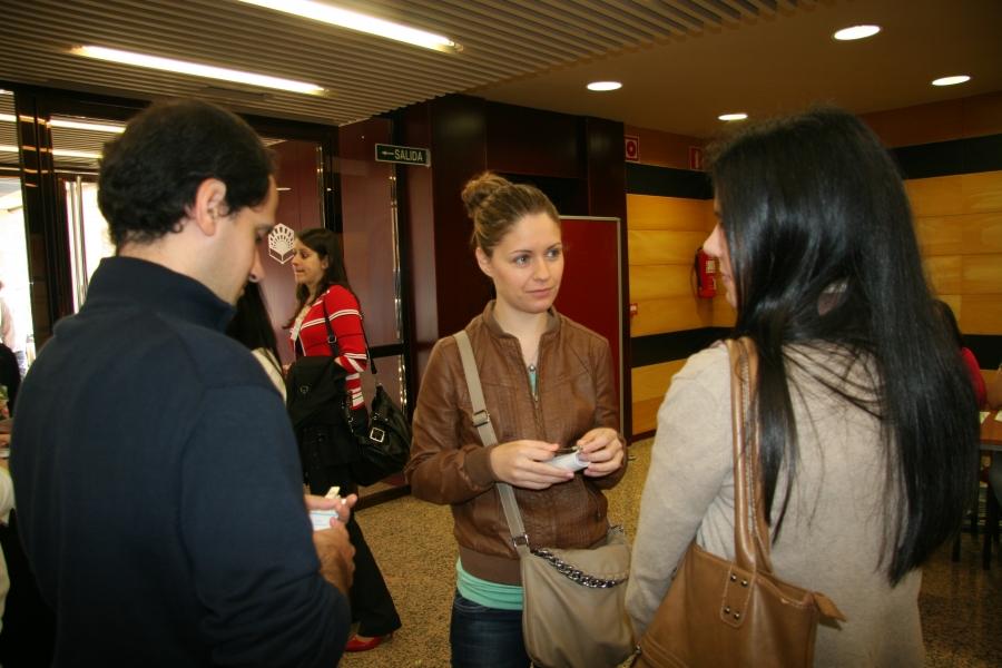 Jóvenes investigadores en el congreso de 2012