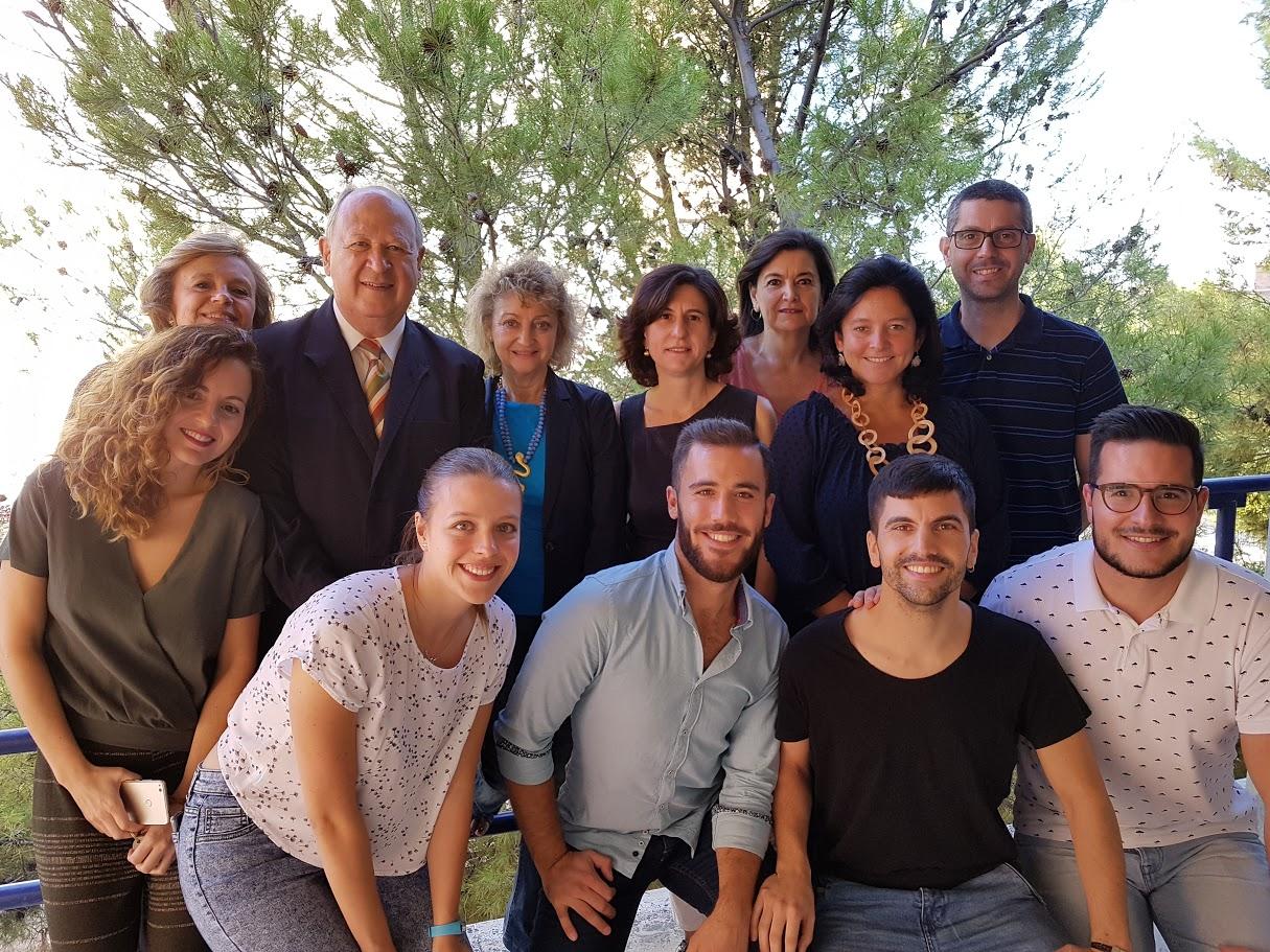 Miembros del grupo de investigación del ceiA3 'Estrés celular y edad   BIO-184' de la UJA